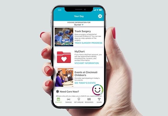 Children's Hospital - Mobile App for Patient Families